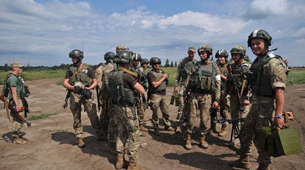 Американцы потренировали украинцев для войны в Донбассе