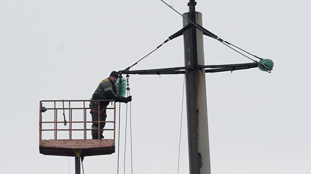 Буря обесточила 88 населенных пунктов на Украине