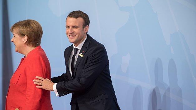 Меркель и Макрон объявили о создании франко-германского истребителя