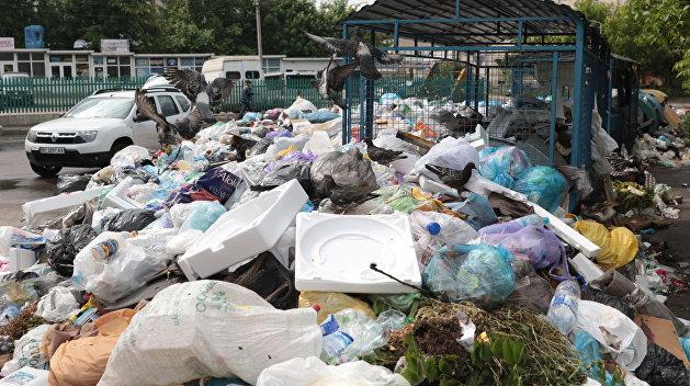 В Киевской области нашли 40 тонн мусора из Львова