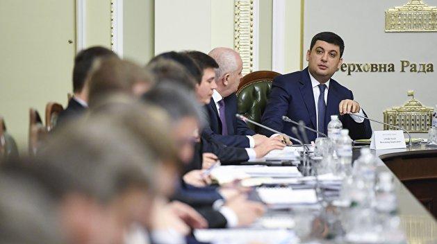 Департамент информации украинского Кабмина «потерял голову»