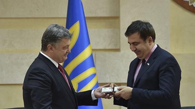 Корнейчук: Переписка Саакашвили и Порошенко — попытка скрыть сотрудничество