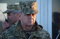 Муженко: Рада тормозит внедрение стандартов НАТО в украинской армии