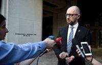 Политолог: К задержанию Яценюка в Женеве могут быть причастны западные спецслужбы