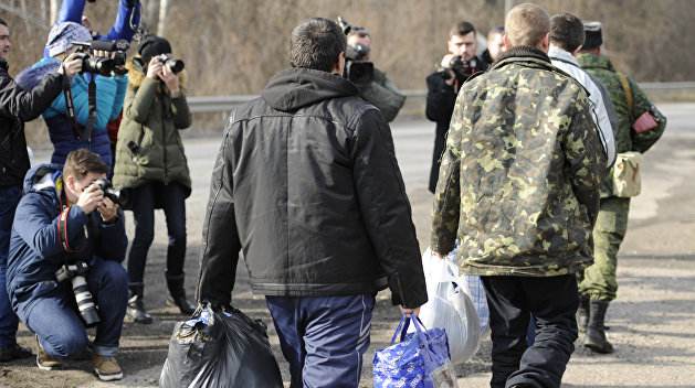 ЛНР отправила пленных к месту обмена