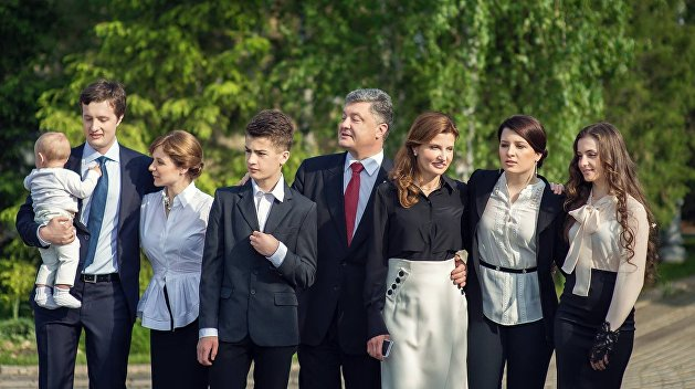 Семья Петра Порошенко. Биографическая справка