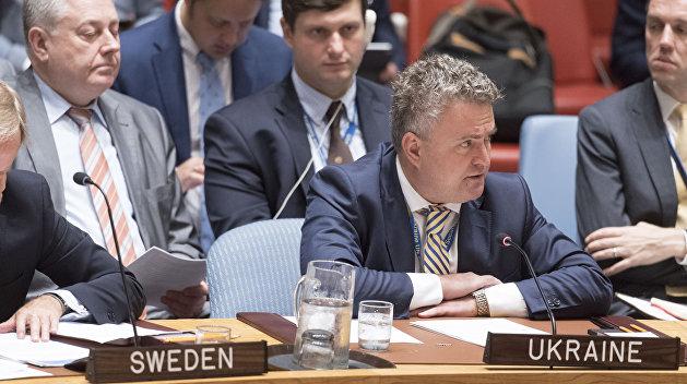 МИД Украины: в потере Крыма виновата ООН