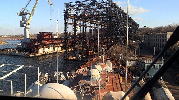 В Николаеве ликвидировали легендарный судостроительный завод