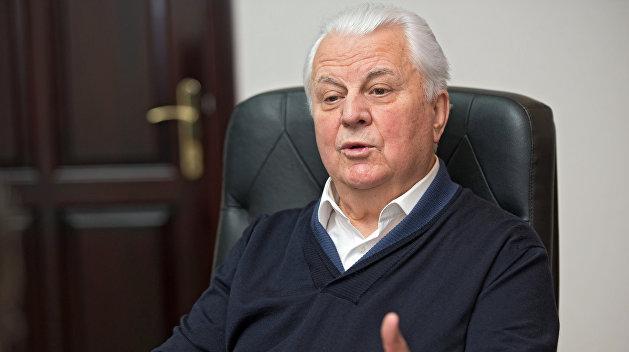 Кравчук: Военное положение не принесет мир в Донбасс