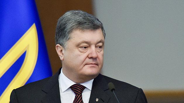 Порошенко прокомментировал задержание Насирова
