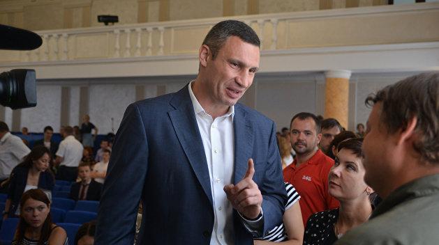 Киевляне готовятся к отправке Кличко в отставку