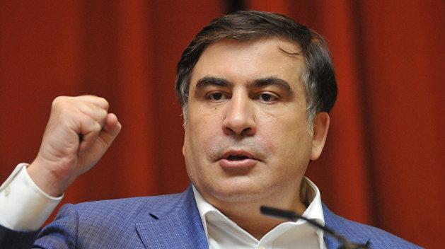 Саакашвили пообещал зачистить Украину от олигархов