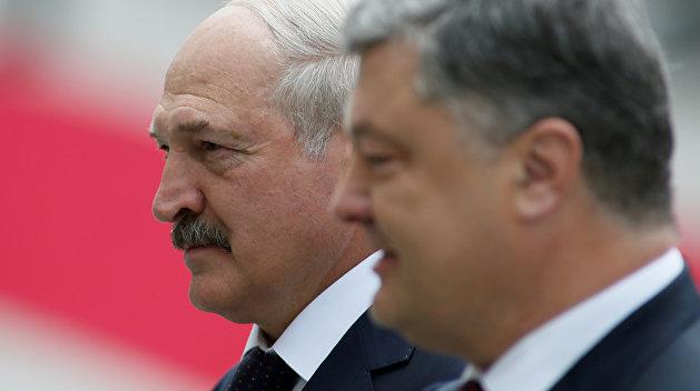 Лукашенко уравнял Путина и Порошенко