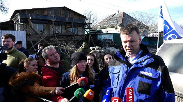 ОБСЕ: В Донбассе резко выросло число жертв среди мирных жителей