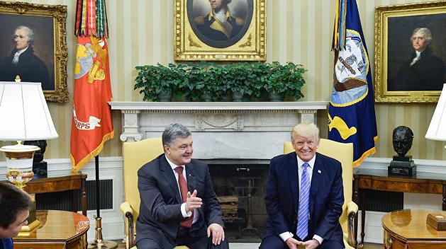 Трамп устанавливает с Киевом канал связи в обход посольства США