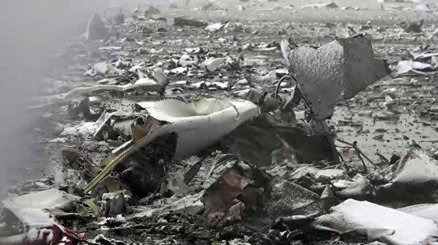 Украинский самолет потерпел крушение в Африке