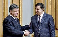 Саакашвили считает себя ладаном, а Порошенко чертом