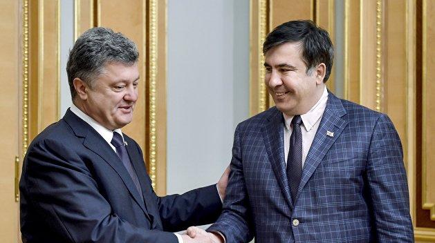 Сакварелидзе: «Порошенко жарил Саакашвили на слабом огне, поливая грязью» - «Страна.ua»