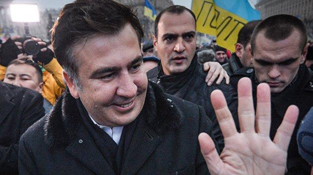 У Минюста произошла потасовка между сторонниками Саакашвили и полицией