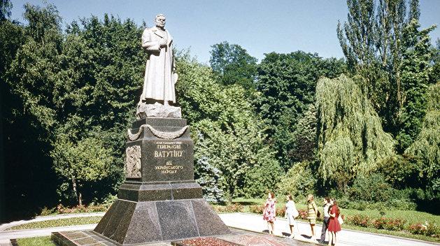 Вятрович пощадил памятник Ватутину