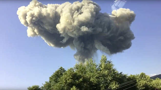 «Взгляд»: Украина не извлечет урока из пожара на арсенале