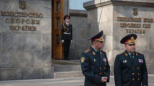 Коррупция в Министерстве обороны может вывести следствие на окружение Порошенко