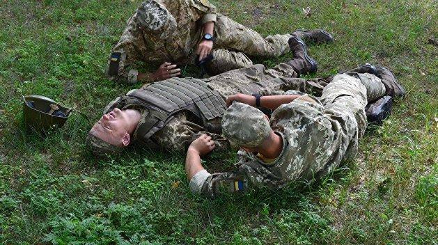 В Донбассе пьяный рядовой ВСУ застрелил двоих сослуживцев