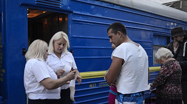 Укрзализныця осталась без белья