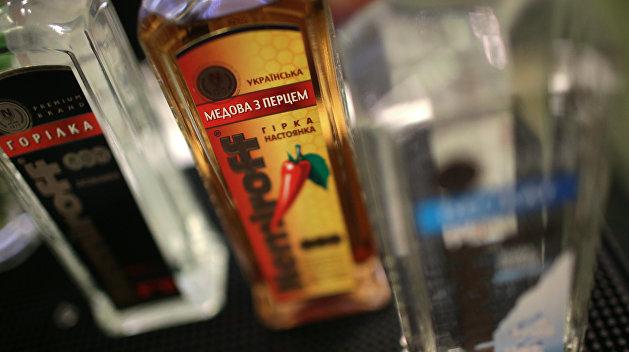 В Киеве запретили продавать алкоголь в киосках