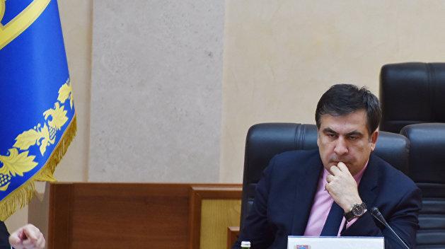 Саакашвили сможет въехать на Украину только по визе