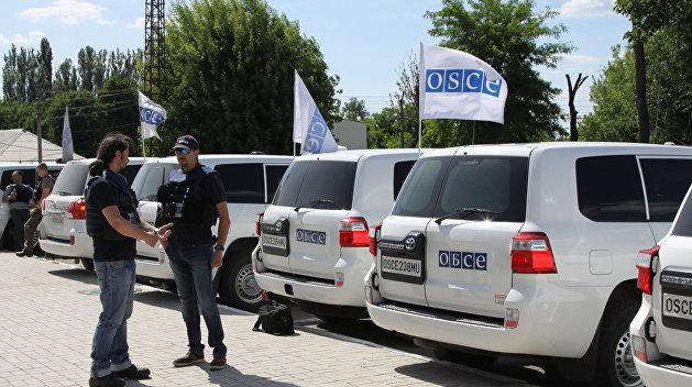 В Станице Луганской начал работу круглосуточный патруль ОБСЕ