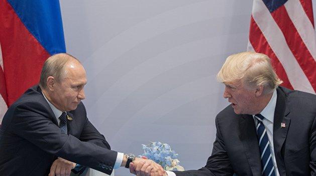 New York Times: Трамп похвалил Путина за сокращение количества сотрудников американского посольства