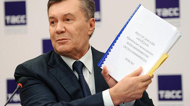 Янукович сам допросит Порошенко, Яценюка и Турчинова
