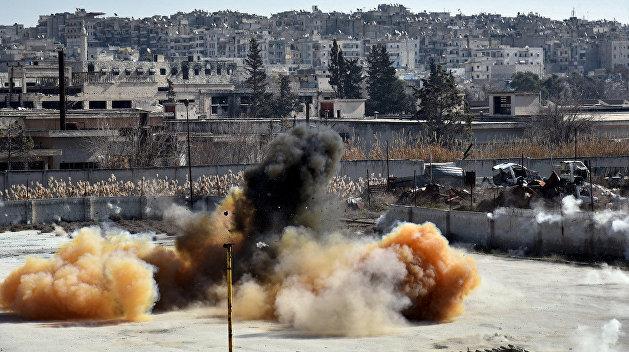 США впервые признали применение террористами химоружия в Сирии
