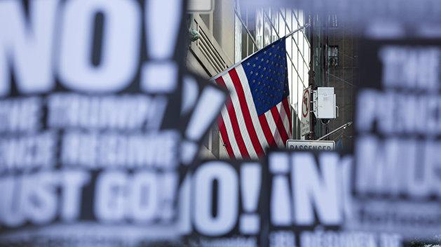 Американцы вышли на митинг против расизма