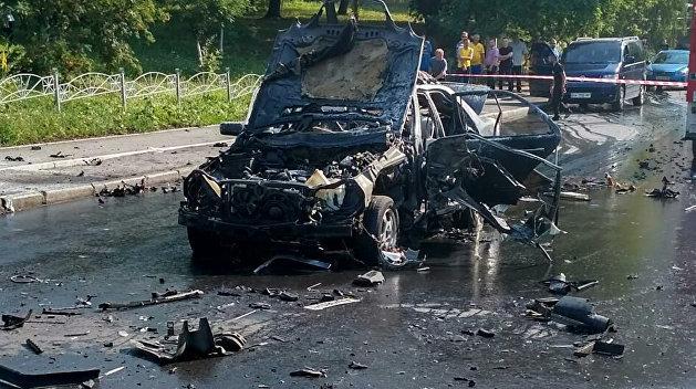 Подрыв полковника украинской разведки: подозреваемые не названы