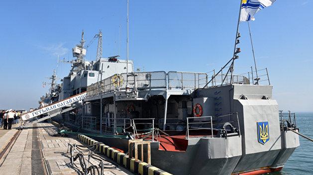 Проблемный флагман: фрегат «Сагайдачный» сломался сразу после ремонта