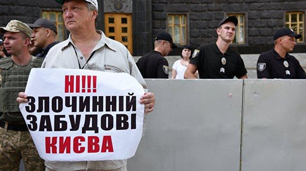 В Кабмине озадачились незаконной застройкой Киева