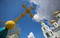 На Украине сельский учитель географии устроил штурм православного храма