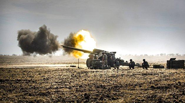 Делегаты из Германии и РФ стали свидетелями обстрела украинскими военными поселка Зайцево