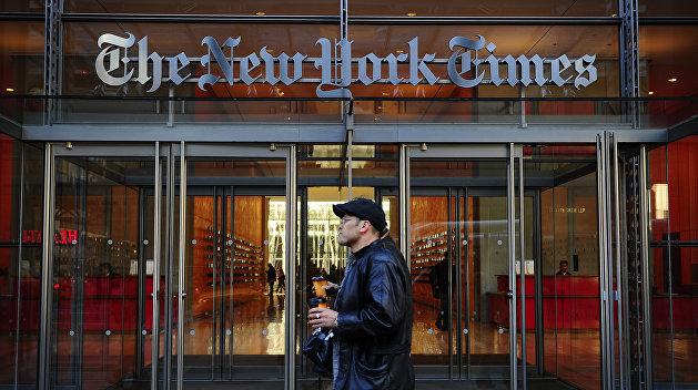 Киев отказался подавать в суд на New York Times за статью об украинских ракетах для КНДР