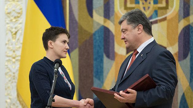 Савченко готова отказаться от звания Герой Украины