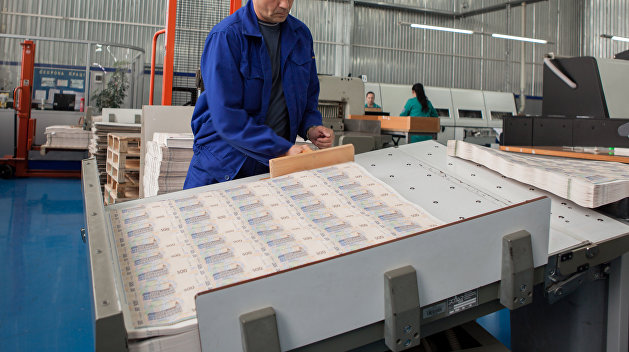 Украинский Нацбанк за год потратил 1,3 млрд грн на печатание денег