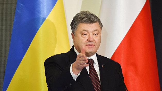 СМИ: УПА рассорила Порошенко и Качиньского