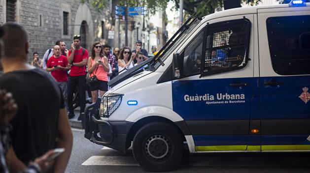Полиция застрелила «смертника» в Барселоне