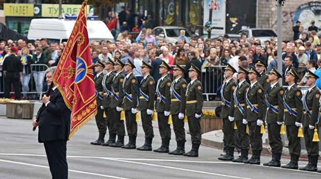 В Центре Киева начался парад ко Дню независимости