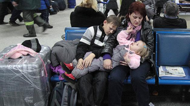 Пассажиры застряли в киевских аэропортах «Жуляны» и «Борисполь»
