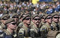 Олег Скрипка сделал из марша националистов гимн ВСУ
