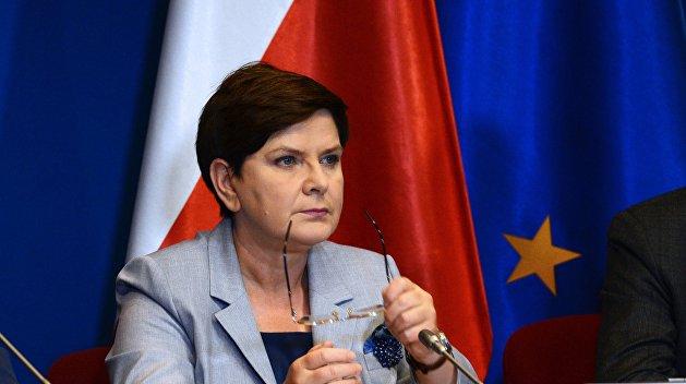 Премьер-министр Польши заявила о праве своей страны на немецкие репарации