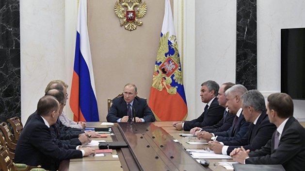 Путин обсудил с Совбезом договоренности лидеров «нормандской четверки»